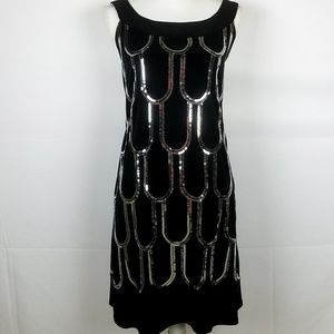 NWOT Black Sequin Dress from Dress Barn Collection